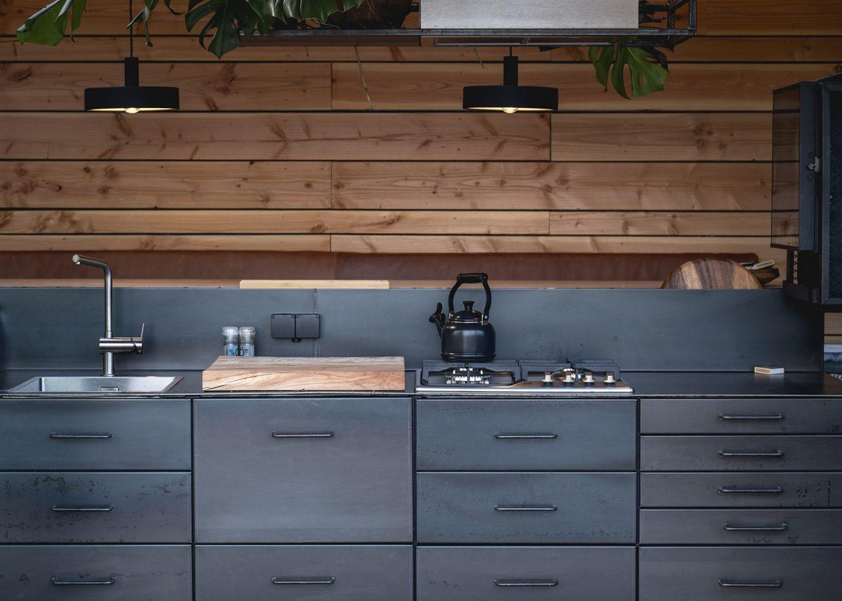 kitchen cabin 3 getaway deluxe