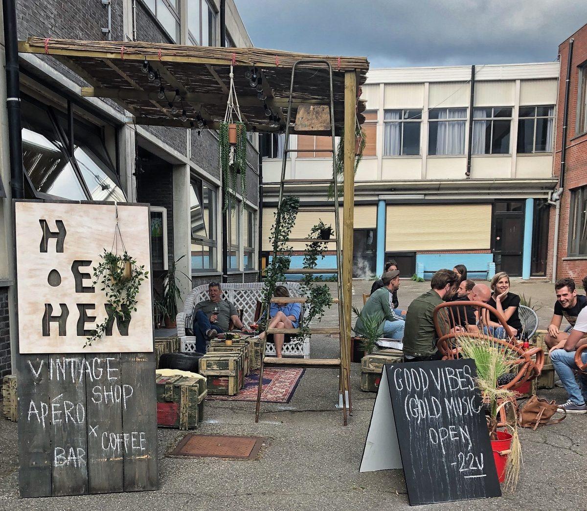 terrace Hen Hen Hen Hen vintage conceptstore
